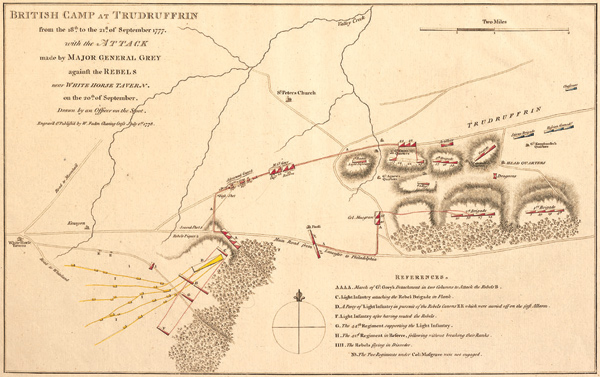 British Camp at Trudruffrin
