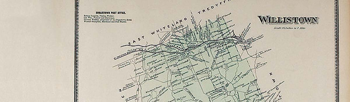 Malvern Maps The Largest Selection Of Antique Main Line And - Malvern Pennsylvania On Us Map